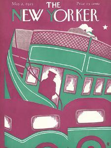 The New Yorker Cover - May 2, 1925 by Margaret Schloeman