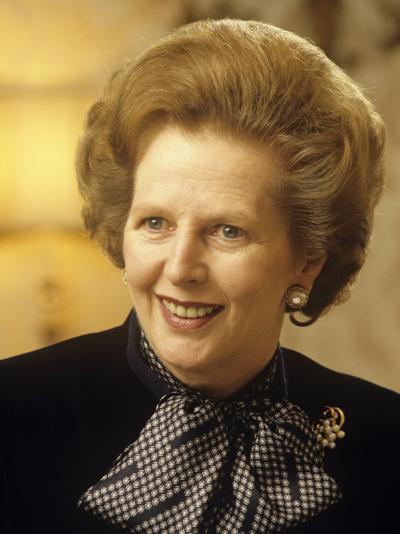 Margaret Thatcher--Photographic Print