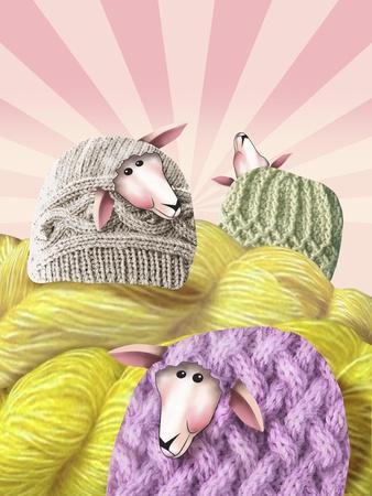 Farm Sheep Yarn