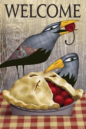 Pie with Crows