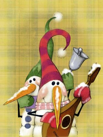 Snowman Mandolin 2