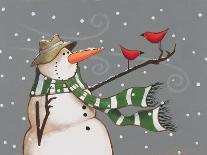 Snowman-Margaret Wilson-Giclee Print