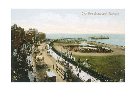Margate, Bandstand 1903--Giclee Print