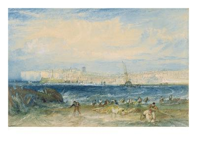 Margate, C.1822 (W/C and Scraping Out on Wove Paper)-J^ M^ W^ Turner-Giclee Print