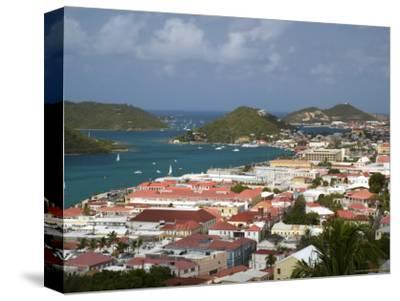 Overhead of Charlotte Amalie from Blackbeard's Castle on Government Hill