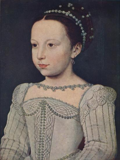 'Marguerite de Valois', c1560, (1939)-Francois Clouet-Giclee Print