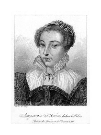 Marguerite of Valois, Queen of France--Giclee Print