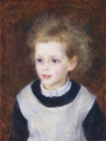 Marguerite-Thérèse (Margot) Berard, 1879-Pierre-Auguste Renoir-Giclee Print