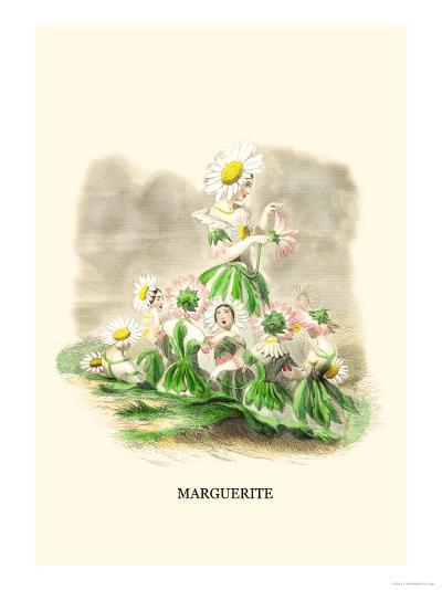 Marguerite-J^J^ Grandville-Art Print