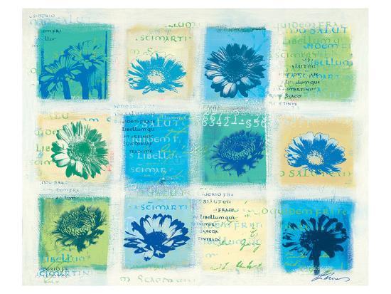 Marguerites Forever-Anna Flores-Art Print