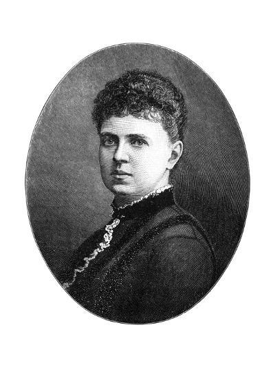 Maria Alexandrovna of Russia, Duchess of Edinburgh, 1900-W&d Downey-Giclee Print