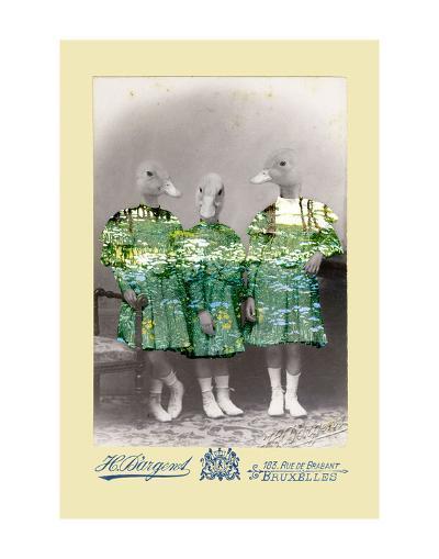 Maria, Anna, and Lisa-Philippe Debongnie-Art Print