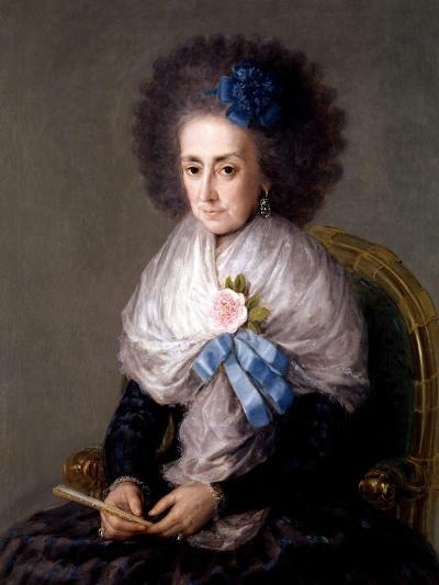 María Antonia Gonzaga, Marchioness Widow of Villafranca, Ca. 1795-Suzanne Valadon-Giclee Print