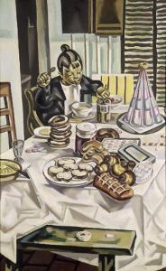 La gourmandise by Maria Blanchard