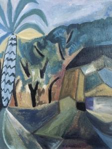 Landscape by Maria Blanchard