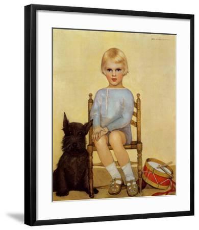 Boy with Dog, 1933