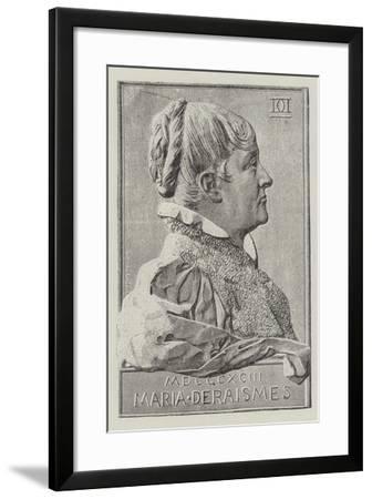Maria Deraismes--Framed Giclee Print