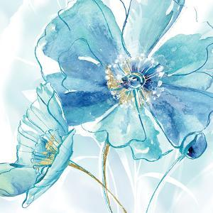 Blue Spring Poppy I by Maria Donovan