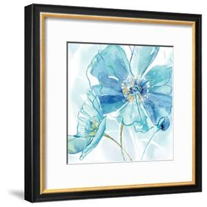 Blue Spring Poppy I by Maria Donovan