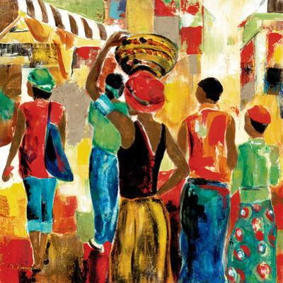 Market Day II by Maria Donovan