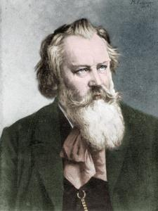 Johannes Brahms by Maria by Maria Fellinger
