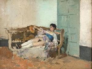 Carmen Bastián by Marià Fortuny