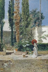 Garden of the Fortuny's House, 1872 by Marià Fortuny