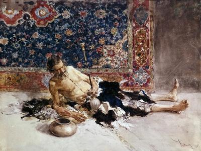 Opium Smoker, 1869