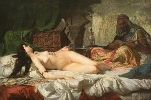 The Odalisque by Marià Fortuny