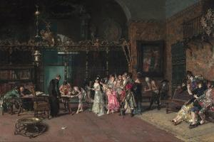 The Spanish Wedding by Marià Fortuny