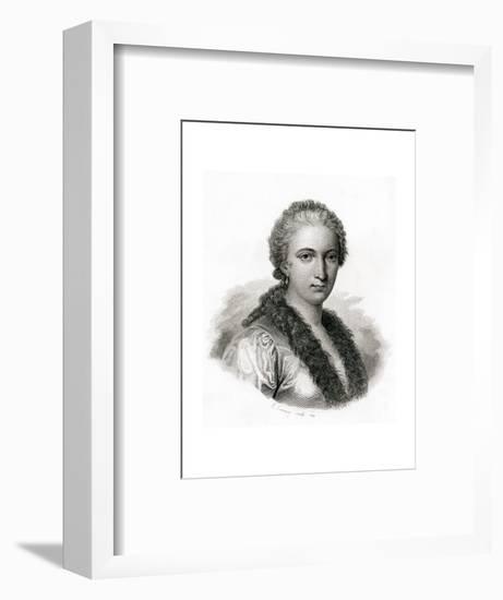 Maria Gaetana Agnesi-E. Conquy-Framed Premium Giclee Print