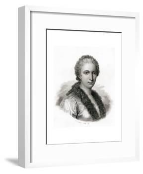 Maria Gaetana Agnesi-E. Conquy-Framed Giclee Print