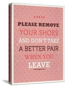 Remove your Shoes by Maria Hernandez