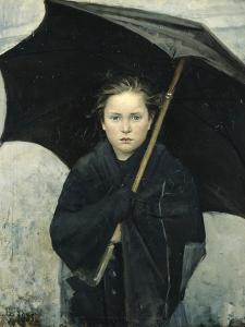 The Umbrella, 1883 by Maria Konstantinovna Bashkirtseva