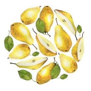 Circle of Yellow Pears by Maria Mirnaya