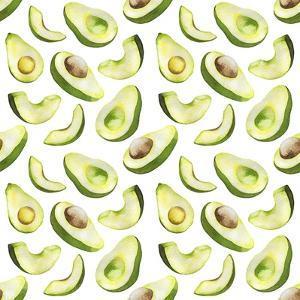 Fresh and Tasty Avocados by Maria Mirnaya