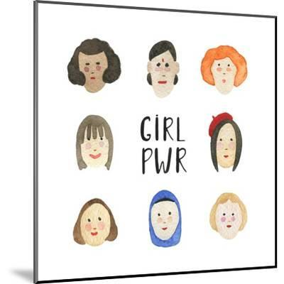 Girl Pwr - Set of Faces by Maria Mirnaya