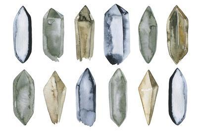 Set of Crystal Gems