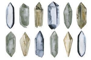 Set of Crystal Gems by Maria Mirnaya