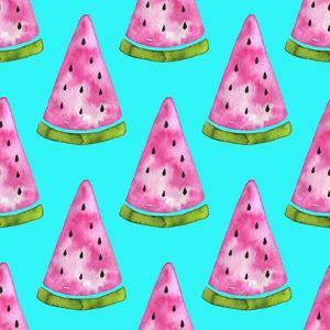 Watermelon Pattern by Maria Mirnaya