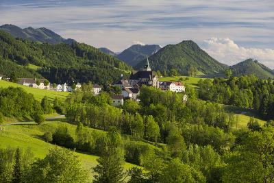 Maria Neustift, Foothills of the Alps, Upper Austria, Austria-Rainer Mirau-Photographic Print