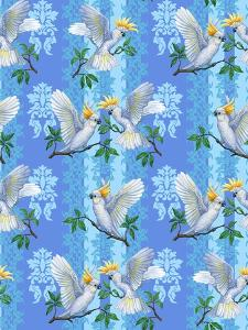 Cockatoos (Pattern) by Maria Rytova