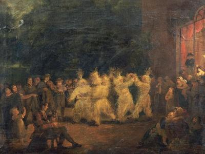 The Harvest Dance at Rosanna, Co.Wicklow