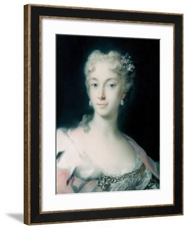 Maria Theresa, Archduchess of Habsburg (1717-178), 1730-Rosalba Giovanna Carriera-Framed Giclee Print
