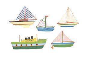 Boats 1 by Maria Trad