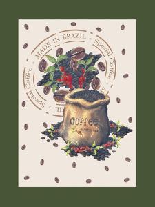 Brasilian Coffee by Maria Trad
