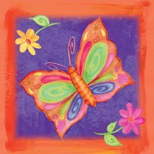 Butterfly Colors 01 by Maria Trad
