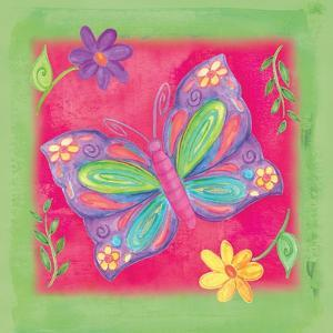 Butterfly Colors 02 by Maria Trad