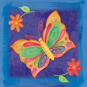 Butterfly Colors 03 by Maria Trad