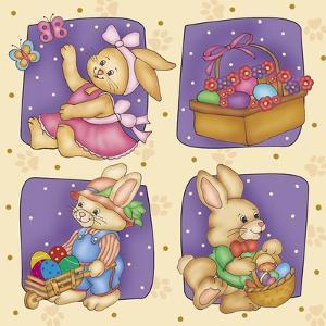 Cute Rabbit by Maria Trad
